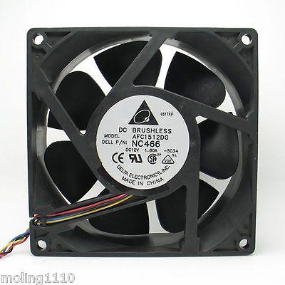 delta AFC1512DG 15050 15cm 150mm DC 12v 1.80A P//N:NC466 case cooling fan
