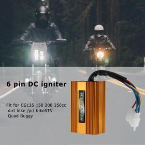 UN3F-6Pin-Racing-DC-CDI-for-CG125-150-200-250cc-Dirt-Pit-Bike-ATV-Quad-Buggy