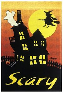 "Halloween Haunted House Garden Flag 12""X18"" Scary Sign Halloween Decorative Flag - Deutschland - Halloween Haunted House Garden Flag 12""X18"" Scary Sign Halloween Decorative Flag - Deutschland"