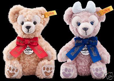 Steiff Little Duffy /& Sherry May Plush Stuffed animal key chain Tokyo Disney Sea