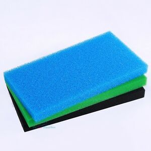 Reticulated Open Cell Foam Sponge Filter Pad Media Aquarium Fish HMF Sump 23