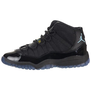 the latest 8a258 22150 Image is loading Nike-Air-Jordan-11-Retro-PS-Black-Gamma-