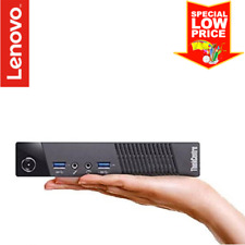 Lenovo ThinkCentre M73 Tiny Desktop (Intel G3220T 2.6GHz, 256GB SSD, 16GB RAM)