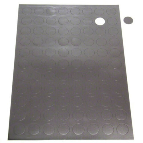 88 per A4 Sheet MagFlex® 20mm Dia Self Adhesive Magnetic Dots 40 Sheets