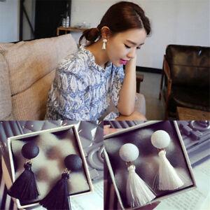 Charm-Vintage-Thread-Tassel-Fringe-Earrings-Pearl-Lady-Dangle-Earrings-Jewelry-H