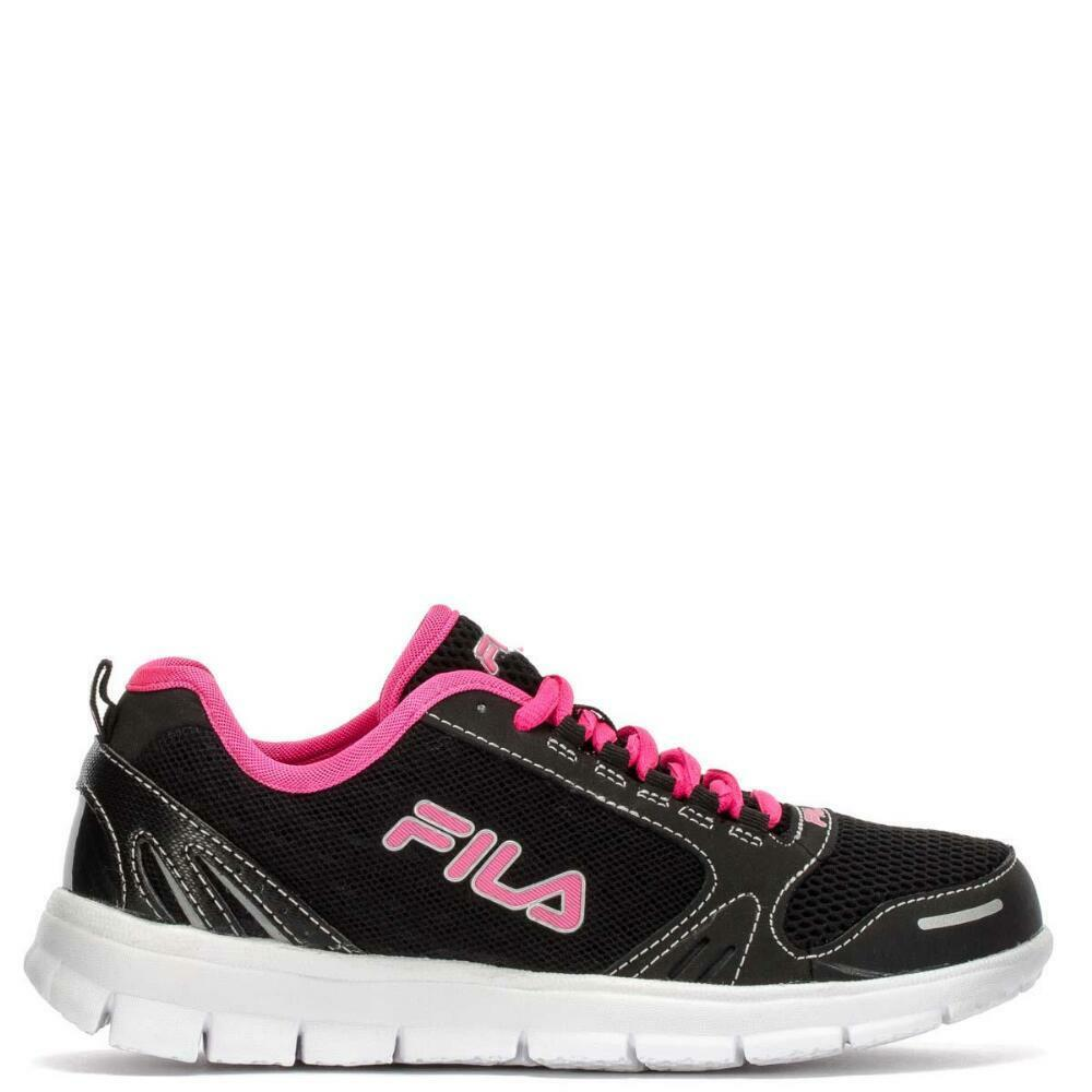 FILA DELUXE LOW RUNNING SNEAKERS SIZE WOMEN Schuhe BLACK/WEISS 5SR20349 SIZE SNEAKERS 10 NEW d9ac5e