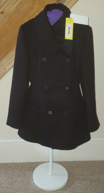 fashionable and attractive package great deals on fashion closer at Black Wool Karen Millen Coat Size 12