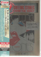 ROLLING STONES From The Vault Hampton Coliseum BLU-RAY + 2CD + SHIRT Japan Box