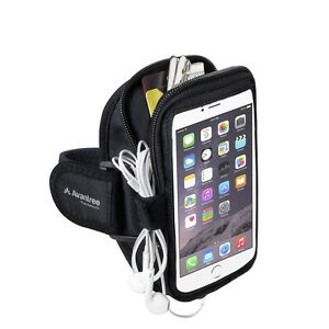 Avantree TrackPouch Multifunction Sports Armband, Black
