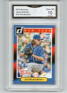 2014-DONRUSS-THE-ROOKIES-JACOB-DEGROM-ROOKIE-BASEBALL-CARD-NEW-YORK-METS