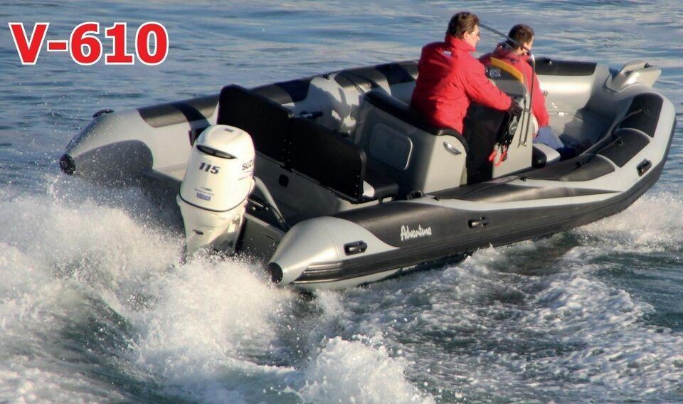 Adventure Rib, V-610, med Yamaha VMAX 115 HK på...