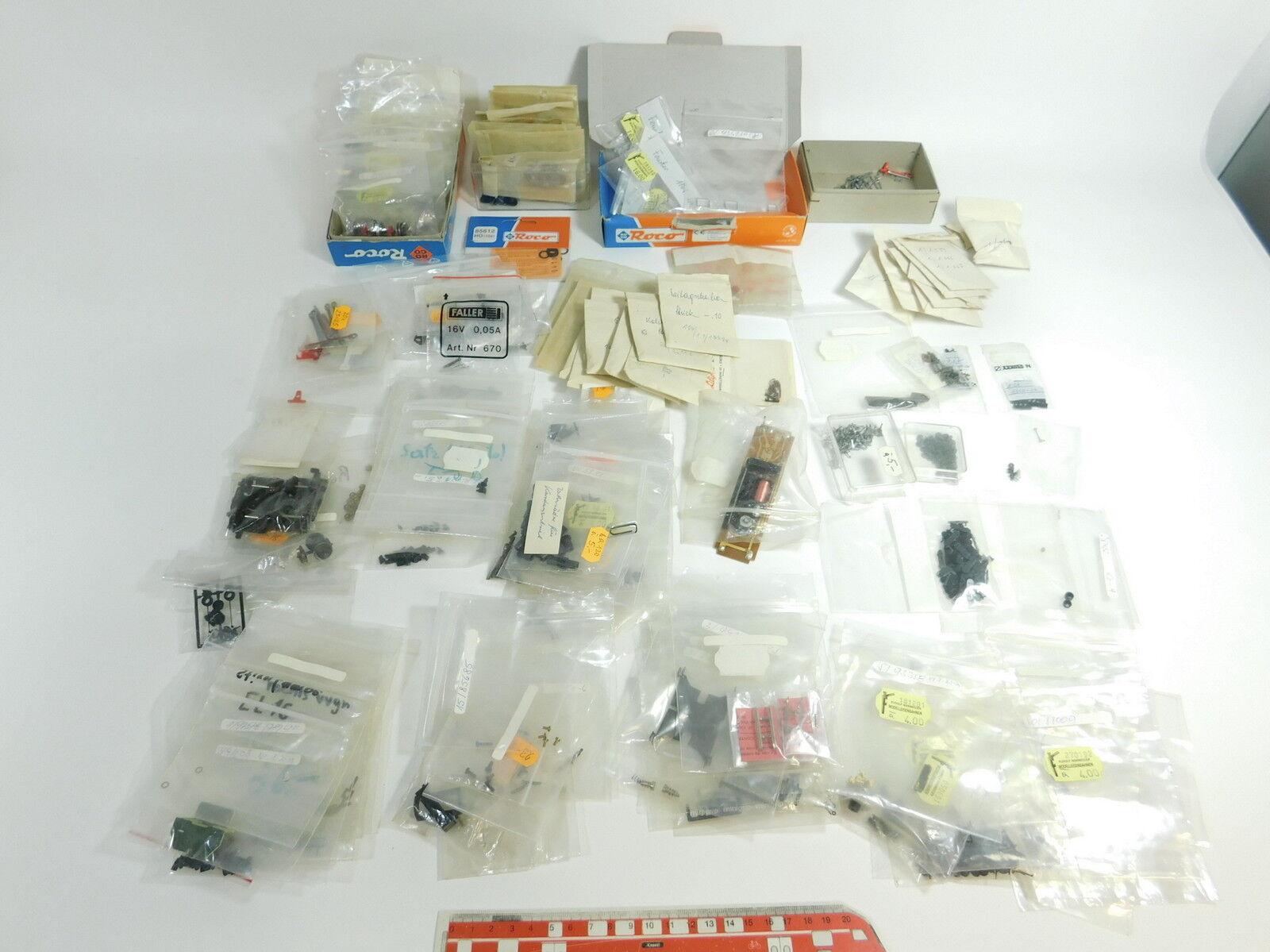 AN324-3  Konvolut H0 DC Ersatzteile (Wernegger) Roco, Rivarossi,Liliput,Lima etc  | Toy Story