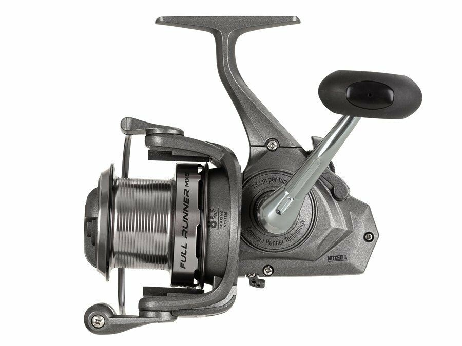 Mitchell NEW MX8 FULL RUNNER Fishing Reel - 8 Ball Bearings - All Sizes