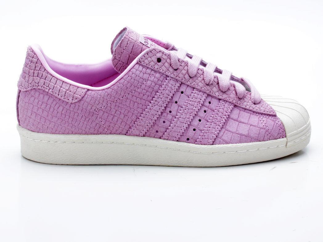 Adidas Superstar 80s W cq2516 Pink-White