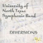 Diversions by University of North Texas (CD, Jan-2001, Mark Custom Recording)