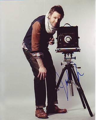 Joel Mchale Signed Autographed 8x10 Photograph Television