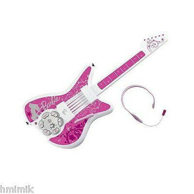 "NEW Barbie ""Jam With Me"" Electronic Rock Star Guitar RARE//Collectible"
