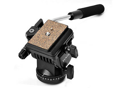 NEW Pro YT-950 DSLR Shooting Filming Video Camera Tripod Action Fluid Drag Head