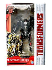 à Condition De Transformers Hasbro Film Le Dernier Chevalier Tlk Deluxe Hot Rod Dgsim-afficher Le Titre D'origine