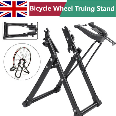 no truing stand UK made WHEELTRU home cycle bike wheel truing tool jig portable