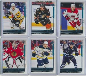 2018-19-Upper-Deck-UPDATE-YOUNG-GUNS-Rookie-U-Pick-COMPLETE-YOUR-SETS