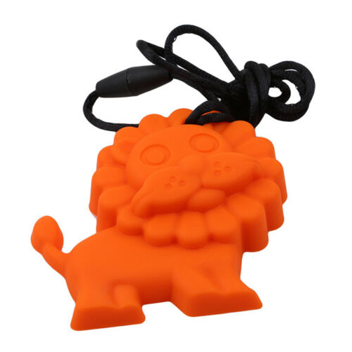 1 Pc Silicone Lion Pendant Teether Baby Pacifier Dummy Teething Nursing LH