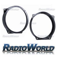 """Mini R50 R52 R53 Front Door Speaker Adapters Rings Spacers 165mm 6.5"""" SAK-1207"""