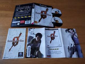 jeu-video-RESIDENT-EVIL-ZERO-nintendo-GAMECUBE-game-cube-PAL-FR