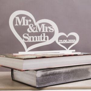 Personnalise-de-haut-de-tableau-Mr-amp-Mrs-SIGNE-amp-DATE-M-Et-Mme-Mariage-Decoration-Cadeau