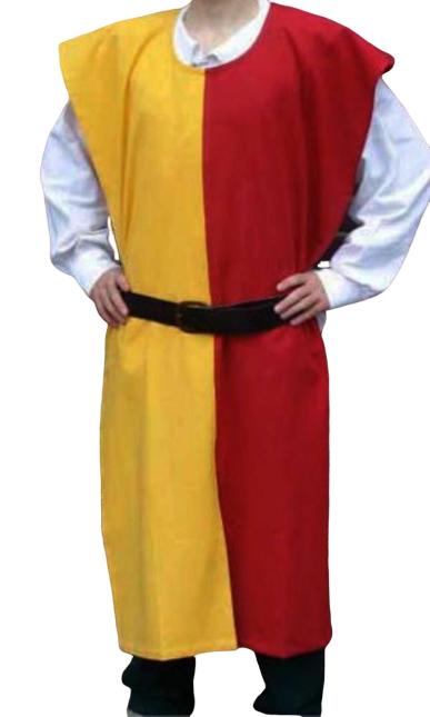 X-Mas Costume MEDIEVAL KNIGHT Tunic Surcoat Crusader Renaissance LAR[