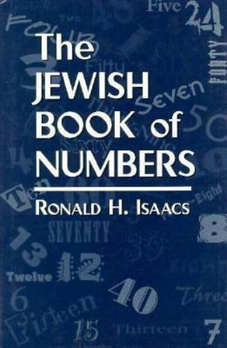The Jewish Book of Numbers, , Isaacs, Ronald H., Very Good, 1996-01-01,