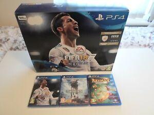 PLAYSTATION-4-SLIM-500GB-FIFA-18-BUNDLE-CONSOLE-tra-cui-3-altri-giochi