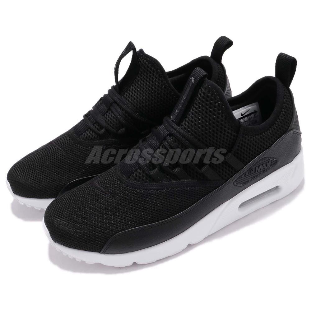 Nike Air Max 90 EZ noir blanc chaussures Slip On homme fonctionnement chaussures blanc Sneakers AO1745-001 de4df7