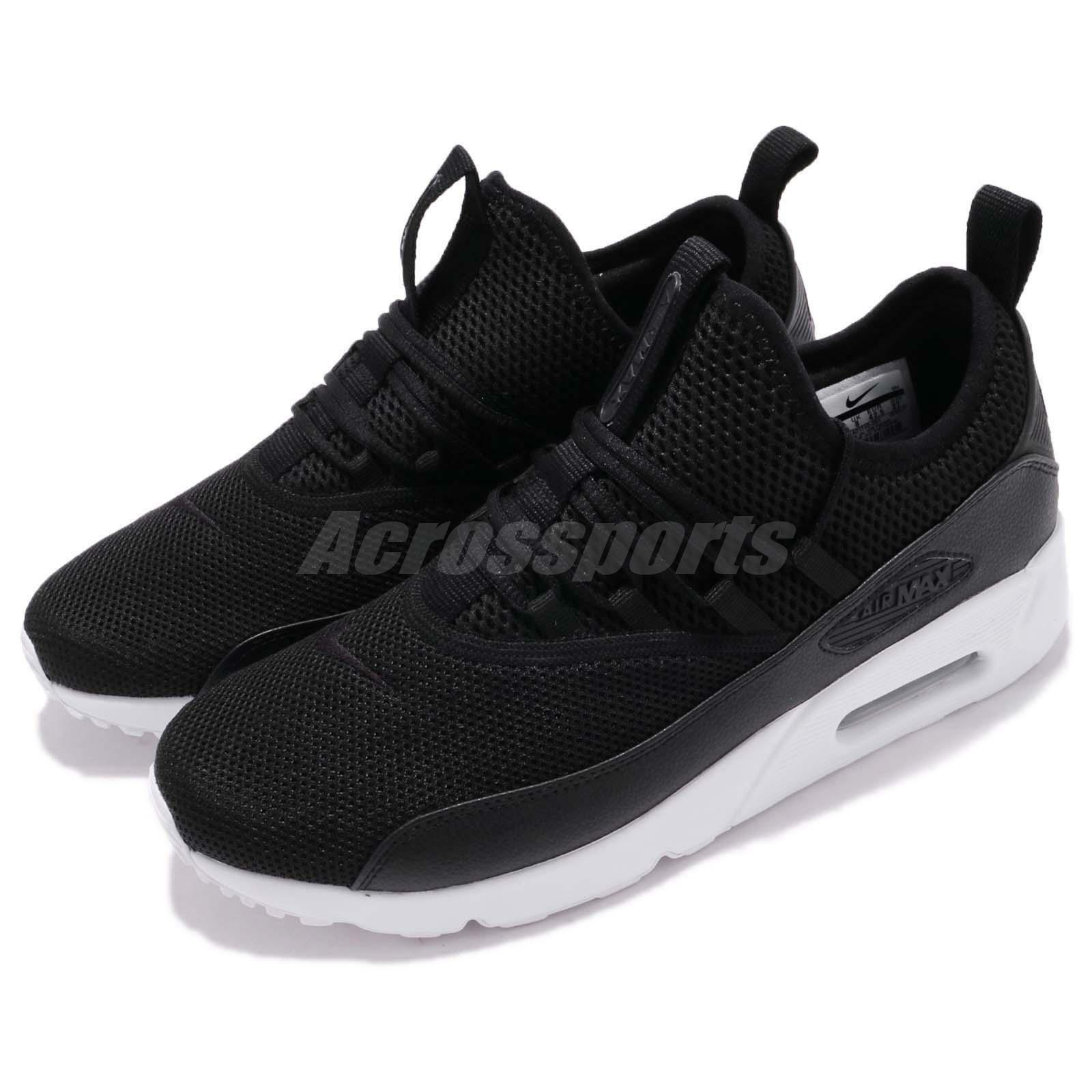Nike Air Max 90 EZ Black White Slip On Men Running shoes Sneakers AO1745-001