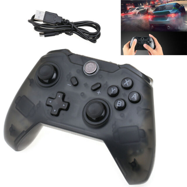 1x Wireless Pro Controller Gamepad Joypad Remote for Nintendo Switch Console BLK
