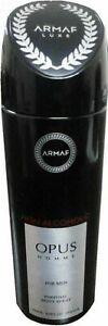 New-Men-Armaf-OPUS-Homme-Body-Spray-For-Men-200-ml-FREE-SHIPPING