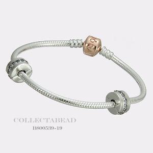 d10b778c4 Image is loading Authentic-Pandora-Silver-PANDORA-Rose-Iconic-Bracelet-Gift-