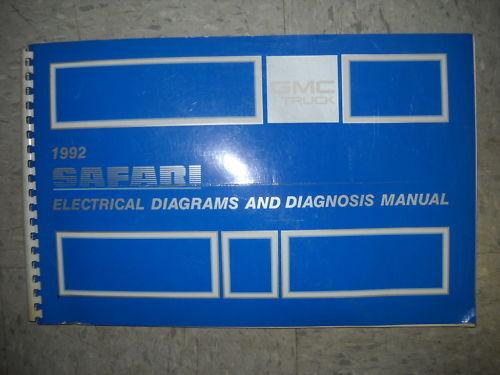 1992 Gmc Safari Van Wiring Diagrams Diagnosis Electrical