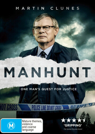 Manhunt (2019)  - DVD - NEW Region 4