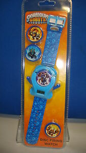 TRADE-BOX-OF-15ps-Skylanders-Swap-Force-Disc-Firing-Digital-Watch