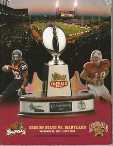 Oregon-State-Beavers-VS-Maryland-Souvenir-Program