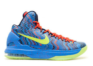 on sale be77b af25b Image is loading Nike-Zoom-KD-V-5-Christmas-Basketball-SZ-