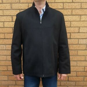 cute cheap a few days away on feet images of River Island Mens Black Winter Jacket Coat | eBay