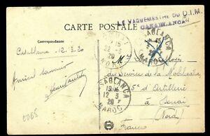 """Maroc - 1920 - Cachet """"le Vaguemestre Du D.i.m. / Casablanca"""" Sur Cpa Pour Douai Dans Beaucoup De Styles"""