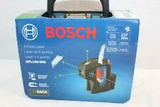 Bosch Gpl100 50g 125 Ft Green 5 Point Self Leveling Laser With Visimax Technology