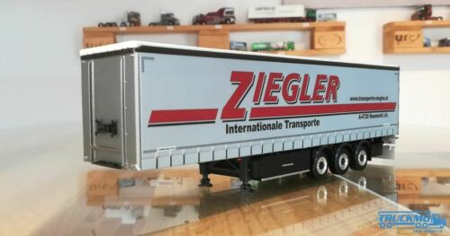 WSI Ziegler Planenauflieger 3 Achs 02-2006.1