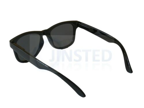 Childrens Black Frame Sunglasses Wayfarer Kids Childs Sunnies UV400 Cool KR004