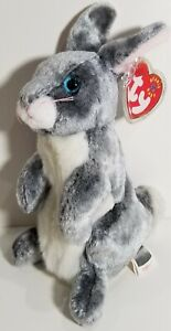 """TY Beanie Babies """"HOPPER"""" the Easter Bunny RABBIT - MWMTs! RETIRED! A MUST HAVE!"""