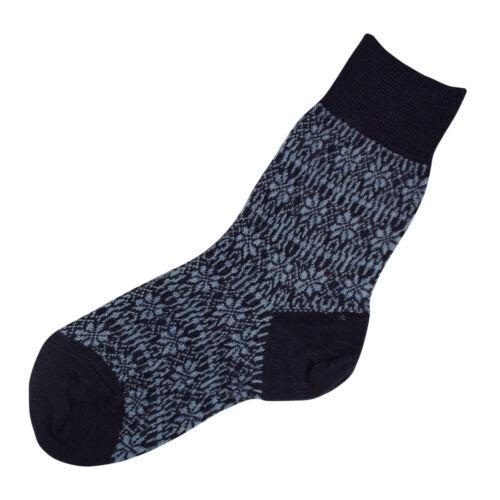 HIRSCH NATUR Damen//Herren Norweger Socken reine Bio-Schurwolle Bio Wollsocken