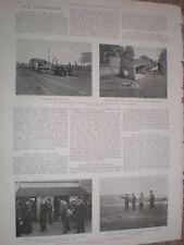 Photo article train railway engine explosion Westerfield Ipswich 1900